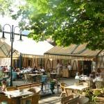 Zila Kávéház és Étterem terasz